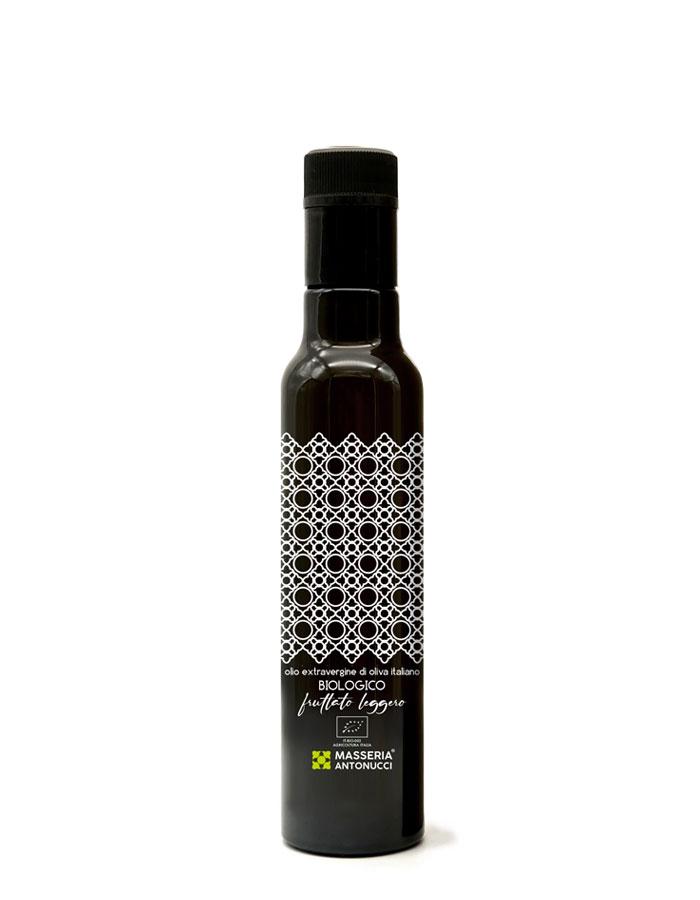 Olio Extravergine di Oliva Biologico Fruttato Leggero Masseria Antonucci 250 ml
