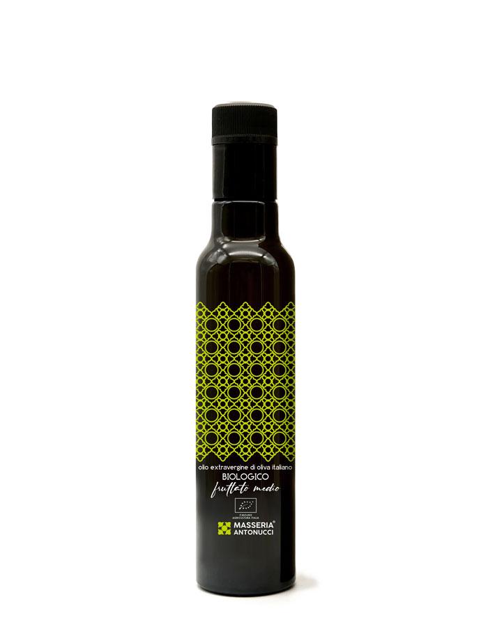 Olio Extravergine di Oliva Biologico Fruttato Medio Masseria Antonucci 250 ml